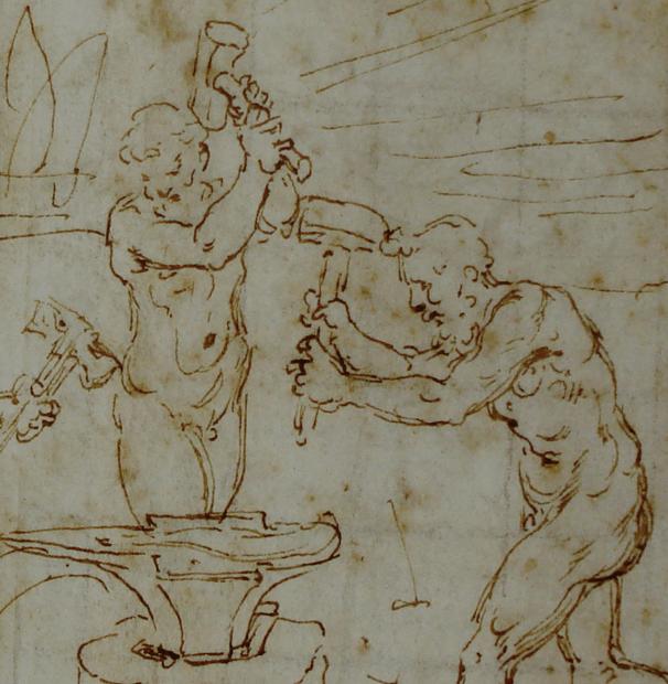 Giovanni Francesco Penni, master drawing. Artexpert